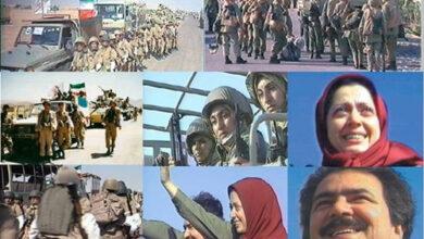 صورة من التاريخ: مريم رجوي أمرت بسحق الأكراد والشيعة