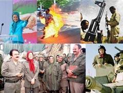صورة الجرائم ضد الانسانية في زمره مجاهدي خلق