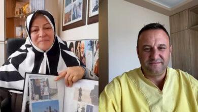 صورة إيرانية تطلب من ناشط ألباني مساعدتها في إنقاذ إبنها من صفوف مجاهدي خلق