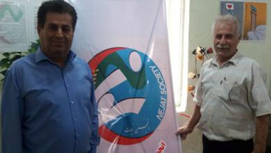 صورة طلب جمعية النجاه محافظة خوزستان من رئيس جمهورية آلبانيا
