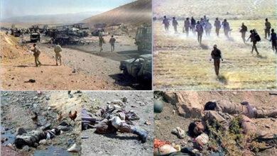صورة وفق القوانین الدولیة یجب محاکمة مجاهدي خلق