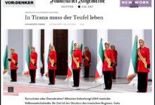 "Photo of صحيفة ألمانية تصف مجاهدي خلق بـ""شياطين تيرانا"""