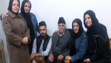 صورة حضور عاطفي عائلة اصغر محمدي كامياب في مكتبة جمعية النجاة محافظة زنجان