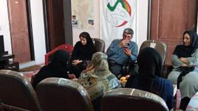 Photo of تجمع و حضور عدد من العائلات في مكتبة جمعية النجاة كرمانشاه