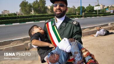 صورة الهجوم الارهابيه الاهواز و مواقف مخجله فرقه مجاهدي خلق