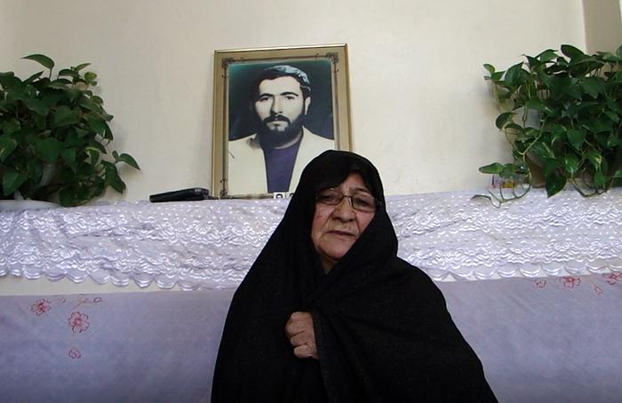 Khadijeh Khodaei, the mother of Morteza Akbari Nasab -Tabriz