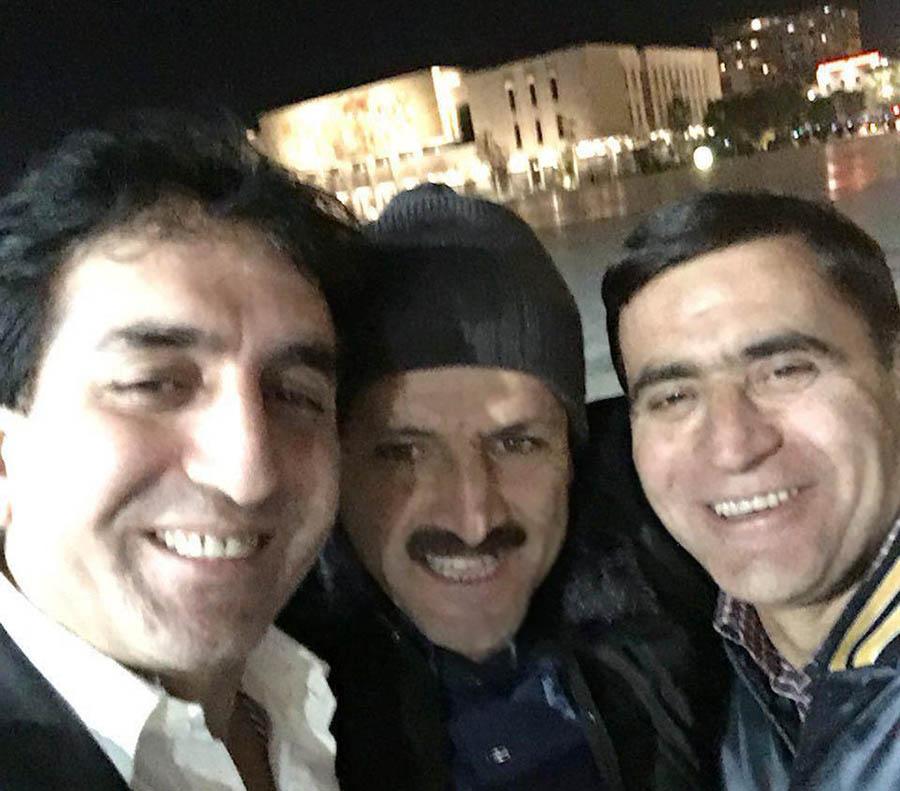 Bahman Azami and Saadallah Seifi along with Adel Azami