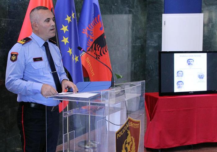 Albania Poilice chief Ardi Veliu