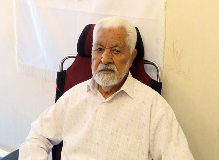 Mojtaba Alimardani's father, Janali Alimardani - Alborz