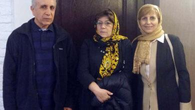 Photo of Nejat Society representative to visit EU MP Ana Gomez
