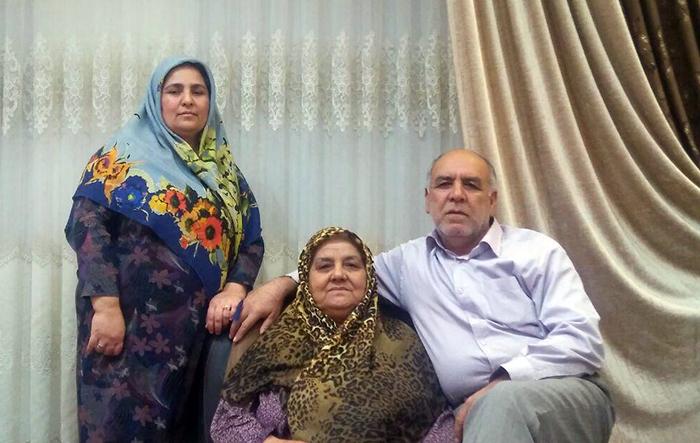 Hamd Mohammad Atabay family