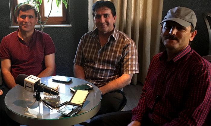 Bahman Azami, Adel Azami and Sadollah Seyfi talk about their ordeals with Albanian media (Nov. 2017)