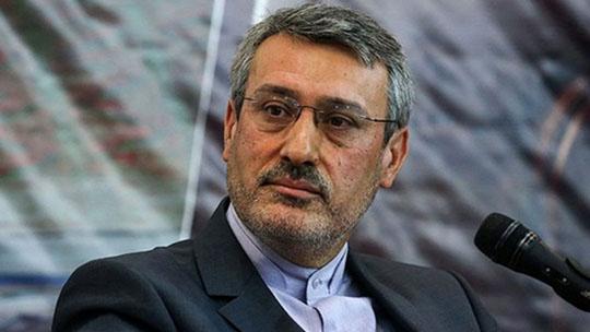 Iran's ambassador to London - Hamid Baeidinejad