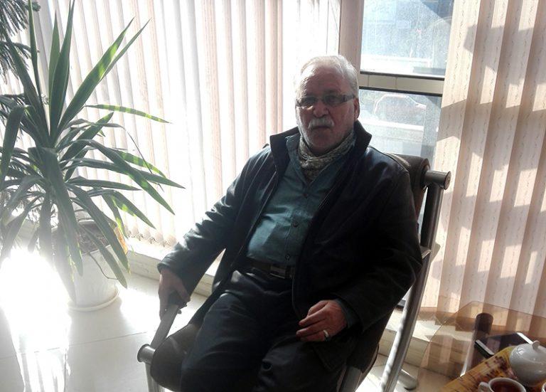 Ehsan Bidi's father, Mohammad Taghi Bidi- Alborz