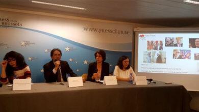 Photo of Photo Exhibition Press Club, Brussels –International Terrorism Mojahedin Khalq
