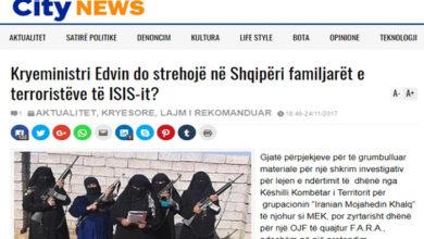 Photo of Will Prime Minister Edi Rama host ISIS terrorists in Albania?