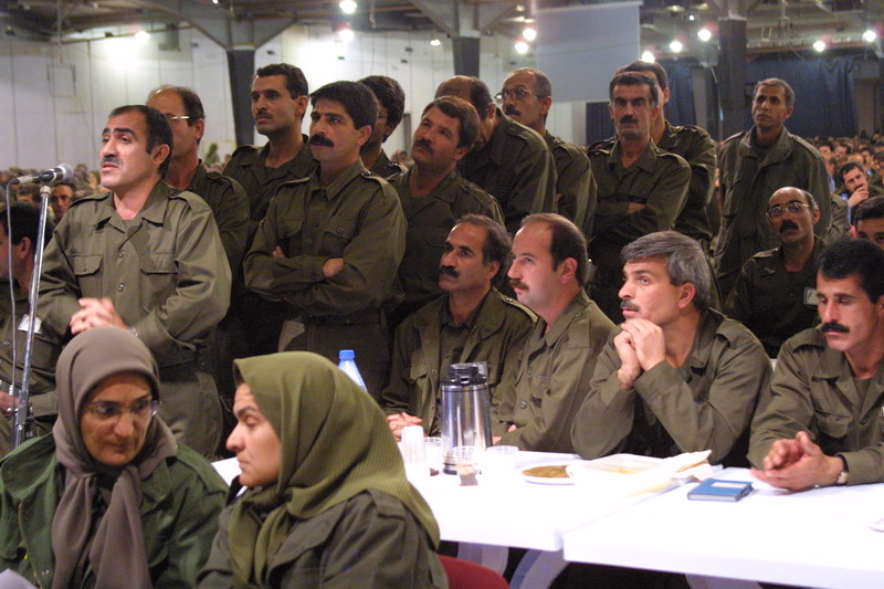 MEK Cult current operation - one of the groups self criticism sessions