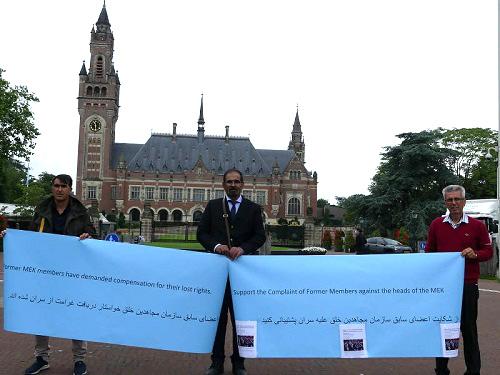MEK defectors at Hague
