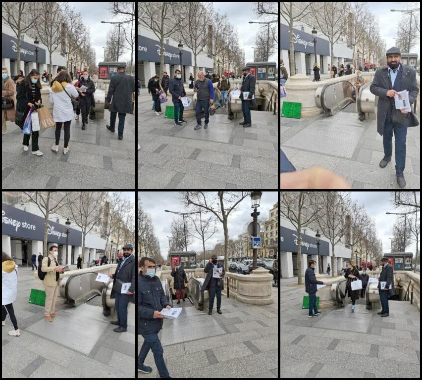 MEK defectors rally in Paris
