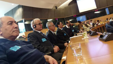 Photo of MEK formers at EU Parliament