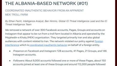 FB removes mek accounts