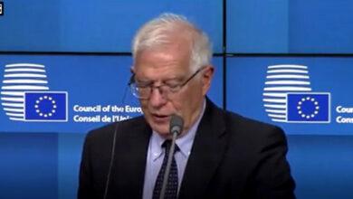 EU foreign policy chief Josep Borrell