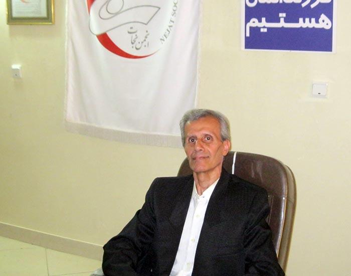 Mustafa Foroughi's brother - Mohammad Reza Foroughi