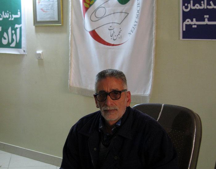 Ali Reza Ghaderi. brother of Gholamreza Ghaderi