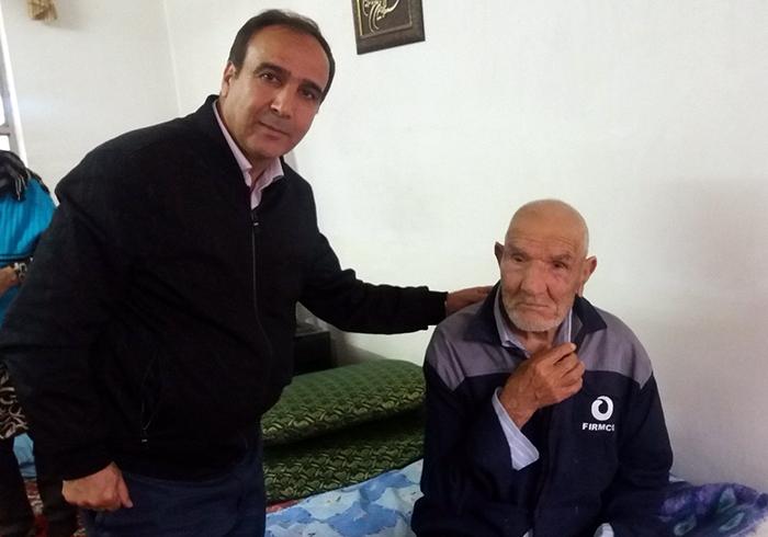 Morteza Ghadimi, the father of Valiullah Ghadimi,