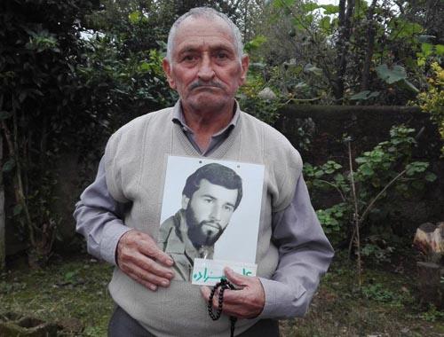 Mohammad Vali Gholizadeh Birani, father of Ali Gholizadeh Birani