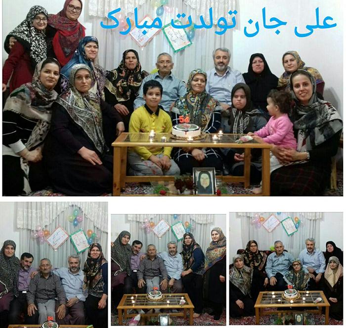 Ali gholizade celebrated his birthday