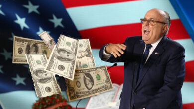 Photo of Rudy Giuliani calls for Iran regime change at rally linked to extreme group