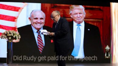 Photo of Rudy Giuliani is working with Iranian 'cult' MEK :MSNBC host