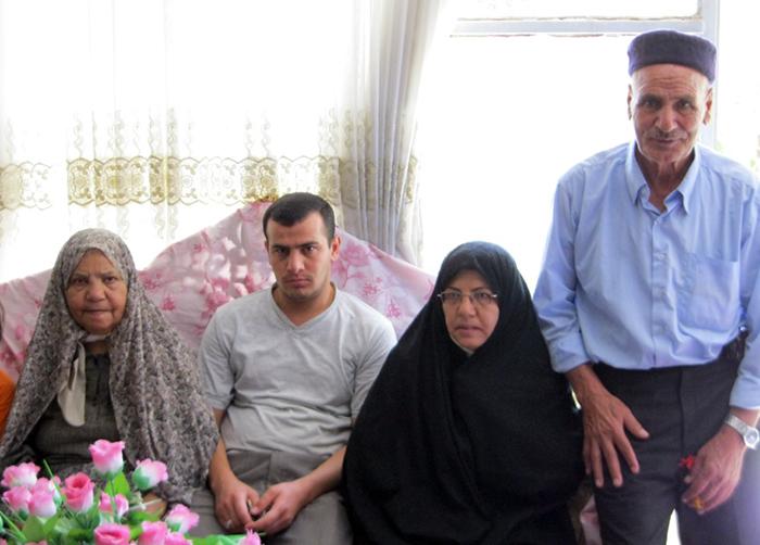 the family of Abbas Golrizan