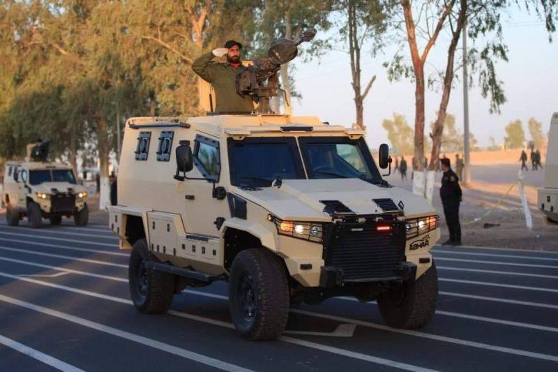 Hashd al-Shaabi parade in Camp Ashraf