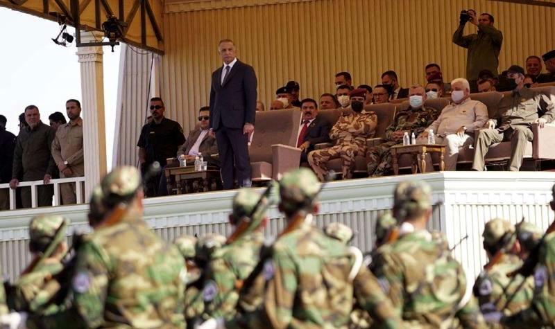 Iraq's Popular Mobilization Forces military parade