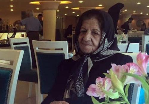 Ashraf Mahallati, Farzin Hashemi's mother