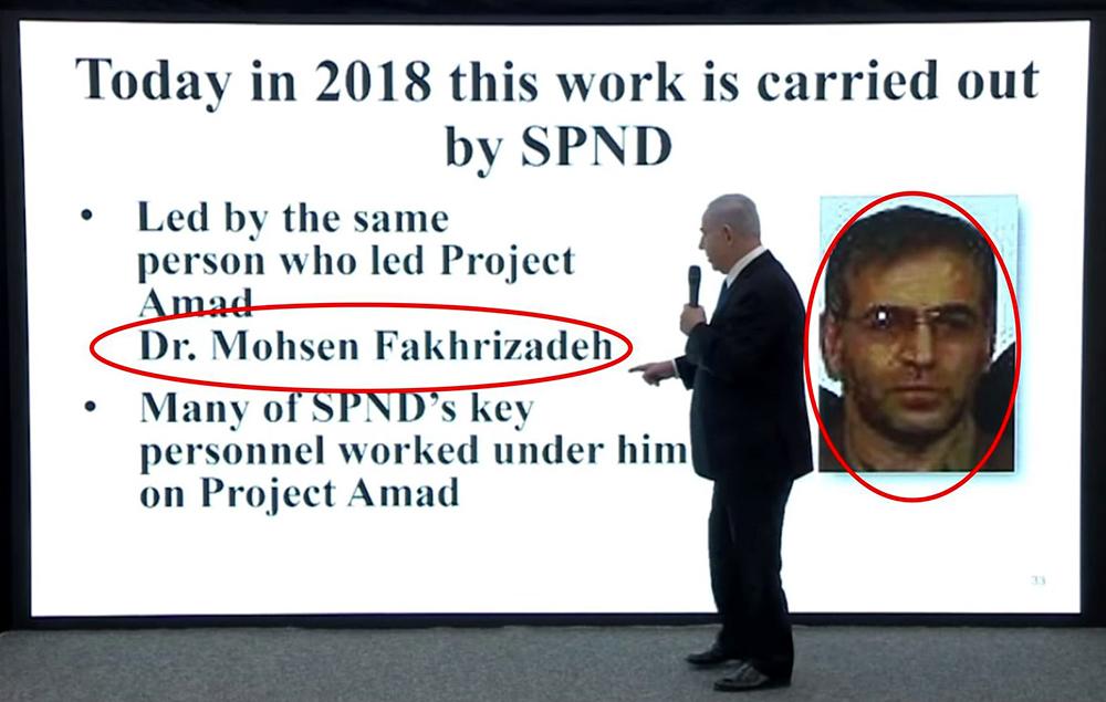 Israel- Netanyahou - Iran scientists- nuclear