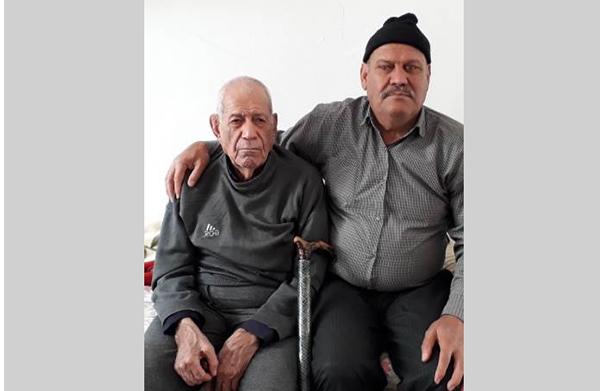 Alireza Jaafari dad and brother- kermanshah