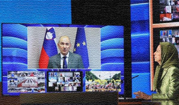 Sllovenia PM Janez Janša at MEK annual meeting