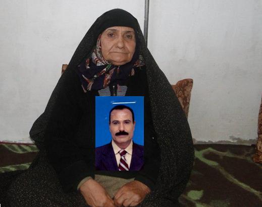 Jeiran Abdolmohammadi, the mother of Ali Judat Hergglan - Tabriz
