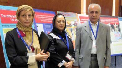 Photo of Nejat Society representatives in Interpol's Project Kalkan meeting