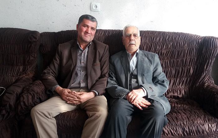 Hanif Mohammadi Kamyab, the father of Ali Asghar Mohammadi Kamyab-zajan