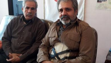 Photo of Abdolkarim Karimi from POW to MKO hostage