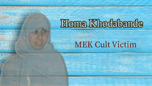 Homa khodabande - as a child victim of the mek cult - his father now is the ceo of nejatngo