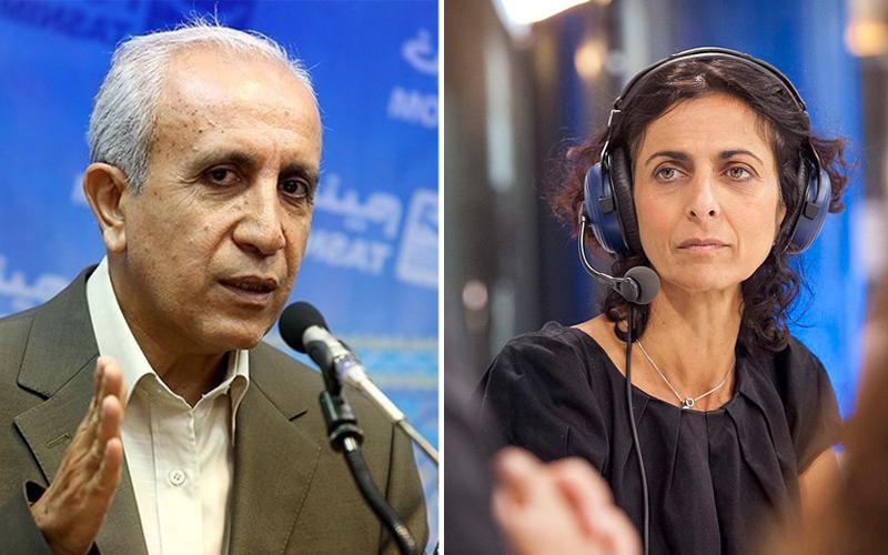 Ebrahim Khodabande- Ms Maria Arena MEP