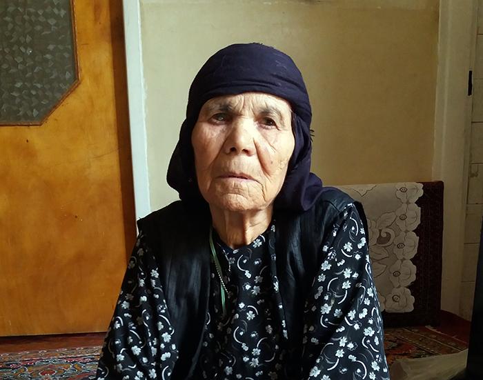 Ali Murad Lotfi's mother, Fanoos Khodadadian - kermanshah