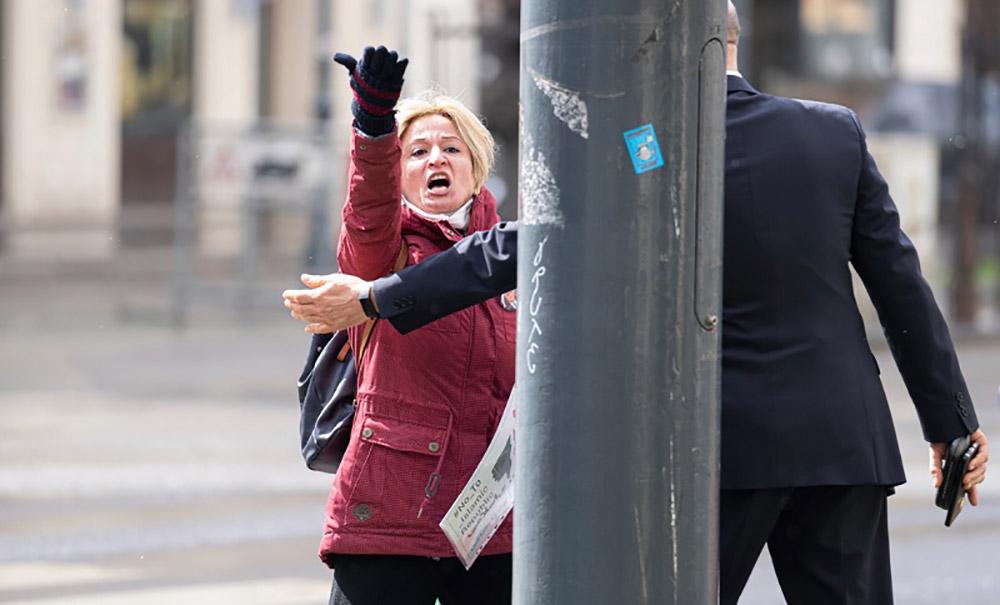 female operative of MEK in vienna