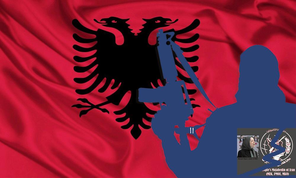 MEK terrorists in Albania