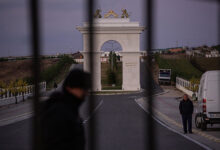 NYT photo of the Ashraf3 CAmp of MEK in Tirana